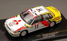 Mitsubishi Galant VR-4 #11 Retired (Accident) Tour De Corse 1991 1:43 Model