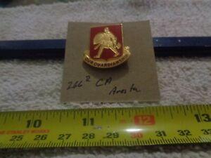 266th Coast Artillery Aresta Unit Crest, DI, DUI (DRAW#K14)