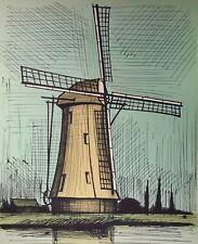 Bernard Buffet, Les Pays-Bas 1986, Hand Signed Lithograph