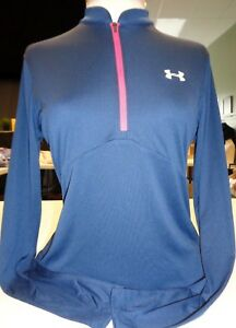 NEW WOMENS UNDER ARMOUR TOUR SWIFT MOCK 1/4 ZIP GOLF JACKET, PICK COLOR & SIZE