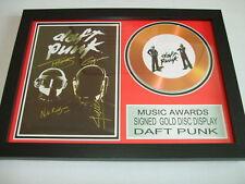 daft punk  SIGNED GOLD CD  DISC 95