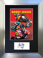 BARRY SHEENE Signed Autograph Mounted Photo Repro A4 Print 553