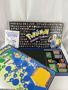 Vintage Pokemon Master Trainer Board Game 1999 Milton Bradley Hasbro