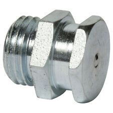 """G 1/4"""" [100 Stück] DIN 3404 T1B Flachschmiernippel Stahl verzinkt"""