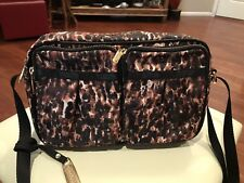 NEW Lesportsac Leopard Print Kate Style Crossbody Purse, Retail $118