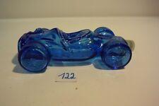 C122 Flacon de parfum vintage AVON de collection voiture de course bleue
