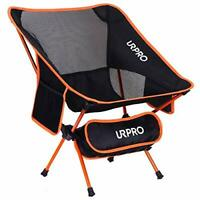 URPRO Outdoor Ultralight Portable Folding Chairs with Carry Bag Heavy Duty