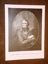 Józef Antoni Poniatowski Principe di Polonia Vienna 7.5.1763 – Lipsia 19.10.1913