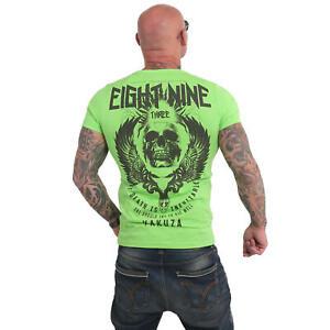 Neues Yakuza Herren Inevitable T-Shirt – Jasmine Green