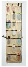 Over the Door Hanging Organizer - 42 Pockets - Beige - Hooks are Included