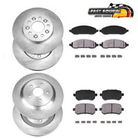 Front D1022 Ceramic Pads 2004 2005 2006 2007 FORD FREESTAR SEL SE LIMITED SES