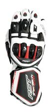 RST Tractech EVO CE 2579 White Motorcycle Sports Glove 125790510 Large 10