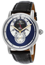 Lucien Piccard Santorini Dual Time Mens Watch 40043-03