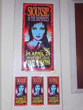 Siouxsie & Banshees ORIGINAL ARMINSKI POSTER CARD SET 1995 Spiritualized