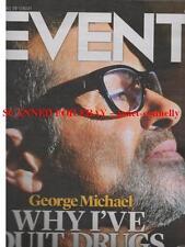 GEORGE MICHAEL Ruby Wax BELINDA CARLISLE Philip Pullman HONOR BLACKMAN Event Mag