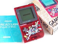 Boxed Nintendo GAMEBOY LIGHT RED Princess Knight Tezuka Osamu World Shop Japan