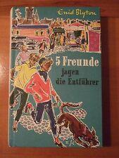 ** 5 Freunde jagen die Entführer Enid Blyton Bertelsmann Buch Kinderbuch TOP **