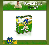 PayPal Cart  - Turn ANY Wordpress Website Into an ecommerce Web Site - CD/DVD