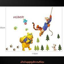 Jump Tiger Winnie Wall Vinyl Decal Removable Stickers Baby Kid Nursery Room