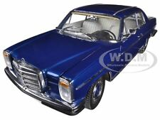 MERCEDES STRICH 8 COUPE BLUE DIECAST MODEL 1/18 PLATINUM EDITION SUNSTAR 4576