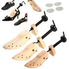 Unisex Women Men Wooden Adjustable 2-way Shoe Stretcher Shaper Expander US(5-10)