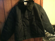 Refrigue Tanker Navy Insulated Jacket - LARGE - NEW