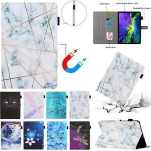 Fr Samsung Galaxy Tab A S5e S6 Lite T290 T515 T720 T860 P610 Stand Case PU Cover
