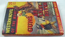 Guns At Lazy River By Stewart Adams Western Novel Of The Month 1941
