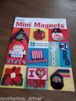 Mini Magnets Plastic Canvas Leaflet The Needlecraft Shop #847517 - 38 designs