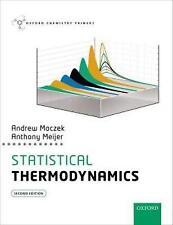 Statistical Thermodynamics (Oxford Chemistry Primers) by Meijer, Anthony, Maczek