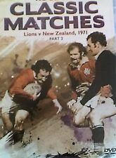 RUGBY CLASSIC MATCHES THE BRITISH LIONS NEW ZEALAND 1971 DVD UNION VINTAGE