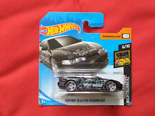 CUSTOM '01 ACURA INTEGRA GSR Honda noir Hot Wheels HW 2018 short card - B427