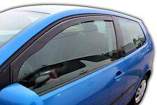 SET 2 DEFLETTORI ARIA  ANTITURBO per  VW POLO GTI 3 PORTE 9N 2002-2009