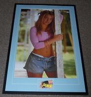 Britney Spears Signed Framed 28x41 Poster Photo Display PSA/DNA