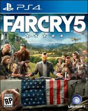FAR CRY 5 GAME (PLAYSTATION 4) PS4 - BRAND NEW/SEALED - FREE SHIPPING!