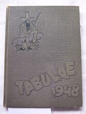 1948 LYONS TOWNSHIP HIGH SCHOOL YEARBOOK LA GRANGE, ILLINOIS  TABULAE