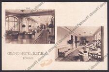 TORINO CITTÀ 500 GRAND HOTEL S.I.T.E.A. - INTERNO - ALBERGO Cartolina