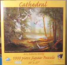 CATHEDRAL ROBERTA WESLEY (Complete) SUNSOUT PUZZLE