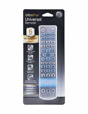 GE Ultra Pro UNIVERSAL REMOTE CONTROL 6-DEVICE FULL BACKLIT BIG BUTTONS for ALL