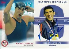 MICHAEL PHELPS 2016 TOPPS ALL-TIME GOLD MEDAL CHAMPION SWIMMER CARD WITH BONUS
