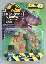 "Jurassic Park Lost World Site B Eddie Carr ""Master Mechanic"" Series 2 NIB"