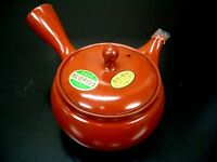 Japanese Tea Pot Tokoname-yaki Kyusu 380ml  (Red)
