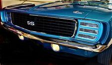 1 1969 69 Camaro Sports Car Race Chevy Built RS SS 24 Hot Rod 18 Model 12