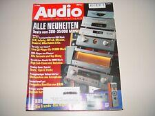 AUDIO Hifi Zeitschrift Heft 3/1999