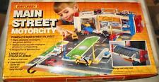 VINTAGE MATCHBOX MAIN STREET MOTORCITY PLAY SET  NEW