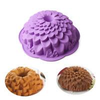 Chrysanthemum Shaped Cake Mold Bread Chocolate Silicone Pan Bakeware Baking Tool