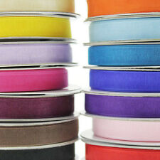 Plain Organza Sheer Rolls Gift-wrapping Ribbon, 25 Yards