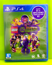 LEGO DC Super-Villains Asia Chinese/English subtitle PS4 NEW