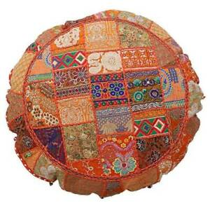 ALL SIZE Patchwork round Floor Large cushion covers Handmade Pillow Cover Decor