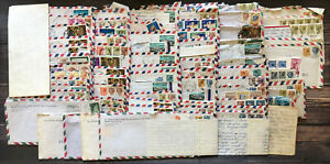 Vintage Lot of Letters From Mormon Missionary in Italy to Family 1970's LDS